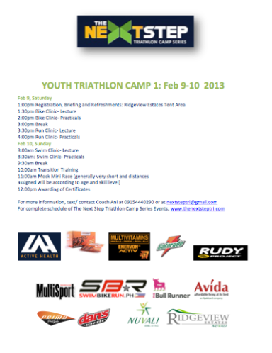 TNS YOUTH CAMP 1 Poster